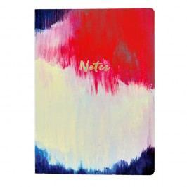 Zápisník Portico Designs Watercolour Abstract Flexi, 160stránek