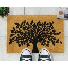 Rohožka z přírodního kokosového vlákna Artsy Doormats Tree of Life,40x60cm