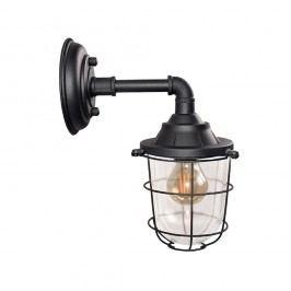 Černé nástěnné svítidlo LABEL51 Seal