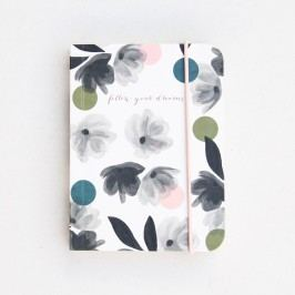 Malý zápisník Caroline Gardner Rose Tinted Small Chunky Notebook