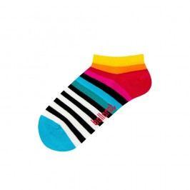 Kotníkové ponožky Ballonet Socks Rainbow, velikost 36–40