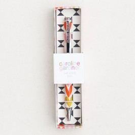 Pero v dárkovém balení Caroline Gardner Hearts Stripe Boxed Pen