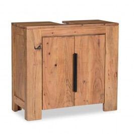 Skříňka pod umyvadlo  z akáciového dřeva Woodking Wellington