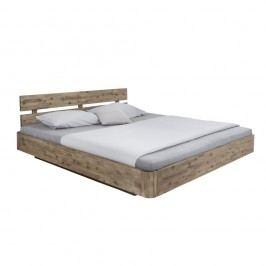 Dvoulůžková postel z masivního akáciového dřeva Woodking Darryl,180x200cm