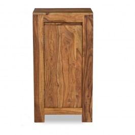 Nízká koupelnová skříňka ze dřeva palisandru Woodking Lee