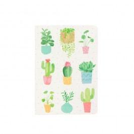 Zápisník Sass & Belle Pastel Cactus