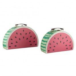 Sada 2 kufříků Sass & Belle Watermelon