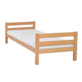 Dětská jednolůžková postel z masivního bukového dřeva Mobi furniture Nina, 200x90cm