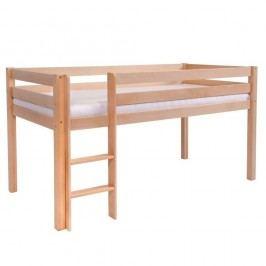 Dětská jednolůžková postel z masivního bukového dřeva Mobi furniture Tim, 200x90cm