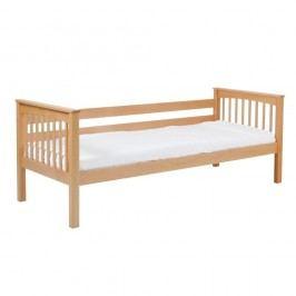 Dětská jednolůžková postel z masivního bukového dřeva Mobi furniture Lea Sofa, 200x90cm