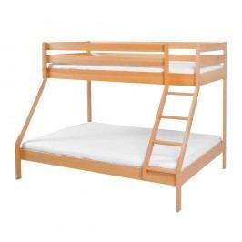 Produkt Dětská patrová postel z masivního bukového dřeva Mobi furniture Maxim, 200x90cm Produkty