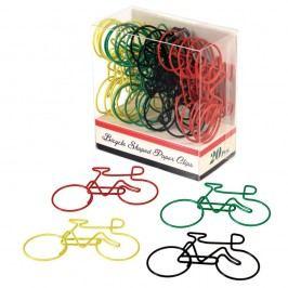 Sada 20 kancelářských svorek Rex London Le Bicycle