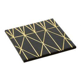 Sada 4 podtácků s geometrickým vzorem Premier Housewares, 10 x 10 cm