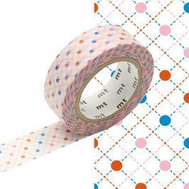 Washi páska MT Masking Tape Brigitte, návin10m