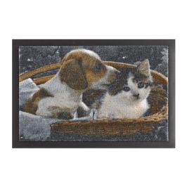 Rohožka Hanse Home Animals Dog and Cat, 40x60cm