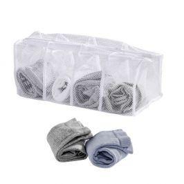 Bílá síťka na praní ponožek Wenko
