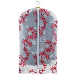 Červenobílý obal na oblek Domopak Living, délka100cm
