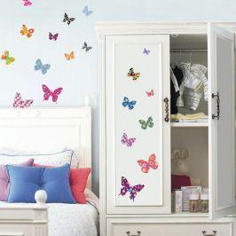 Sada 25 samolepek Ambiance Butterflies