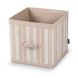 Úložný box Domopak Stripes, délka32cm