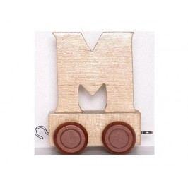 Vagónek M, hnědá kolečka