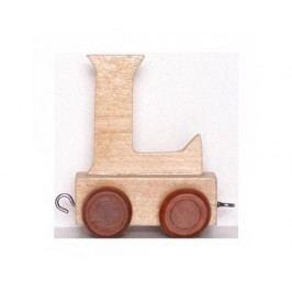 Vagónek L, hnědá kolečka