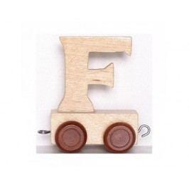 Vagónek F, hnědá kolečka