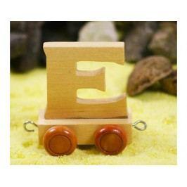 Vagónek E, hnědá kolečka
