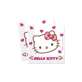 Ubrousky 2-vrstvé 33x33 cm, 20 KS Hello Kitty