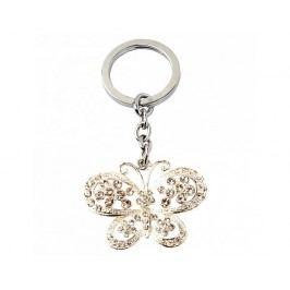 Přívěsek na klíče, motýl