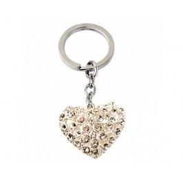 Přívěsek na klíče, srdce