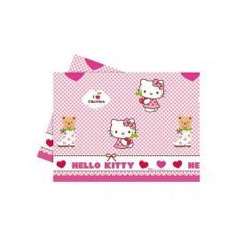 Ubrus plastový 120x180 cm Hello Kitty