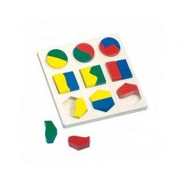 Puzzle, geometrické tvary