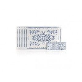 BANQUET 12-dílná sada plastového prostírání ONION