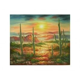 Obraz - Rozbouřená poušť