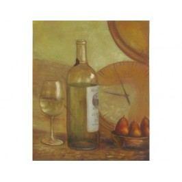 Obraz - Zátiší s bílým vínem