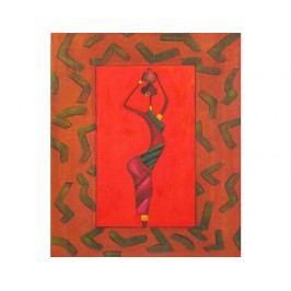 Obraz - Žena v červeném