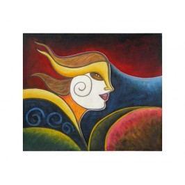Obraz - Tvář ve větru