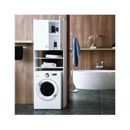 Skříňka na pračku, DTD laminovaná, bílá, NATALI