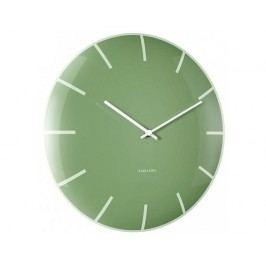 Designové nástěnné hodiny 5722GR Karlsson 40cm