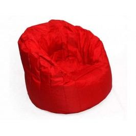 Červený sedací vak BeanBag Lumin Chair