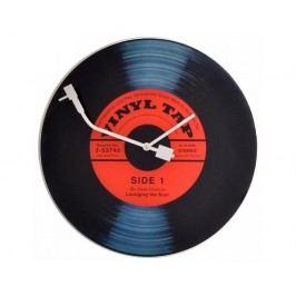 Designové nástěnné hodiny 8141 Nextime Vinil Tap 43cm