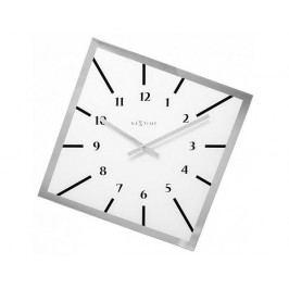 Designové nástěnné hodiny 8176wi Nextime Off Balance 56cm