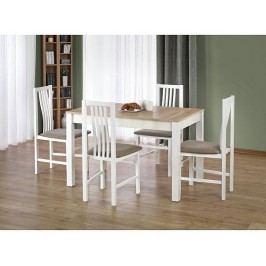 Jídelní stůl Ksawery, bílý-sonoma