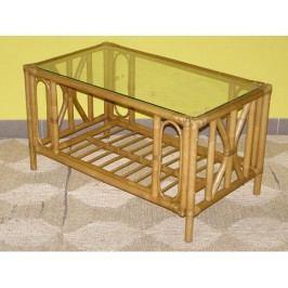 Ratanový stolek Universal-světlý