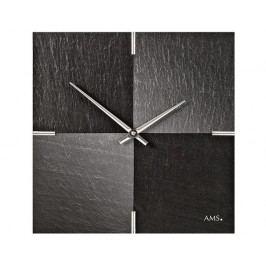 Designové nástěnné břidlicové hodiny 9520 AMS 30cm