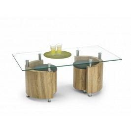 Konferenční stůl Angel, dub sonoma