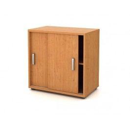 Produkt Skříň přístavná mělká - posuvné dveře Kancelářský nábytek
