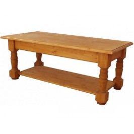 Konferenční stolek - oblá police 2