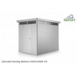 Zahradní domek HIGHLINE H2 s jednokřídlými dveřmi