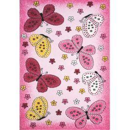 Dětský koberec Toys pink C 259
